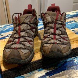 Merrell men's ortholite continuum  shoes 10